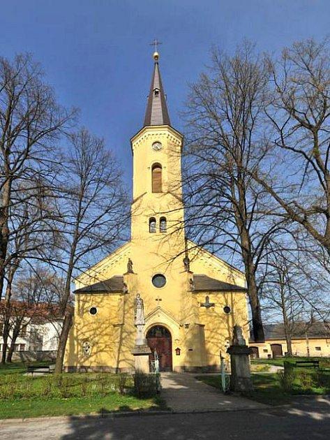Hrabyňský kostel se stane opět cílem mnoha poutníků.