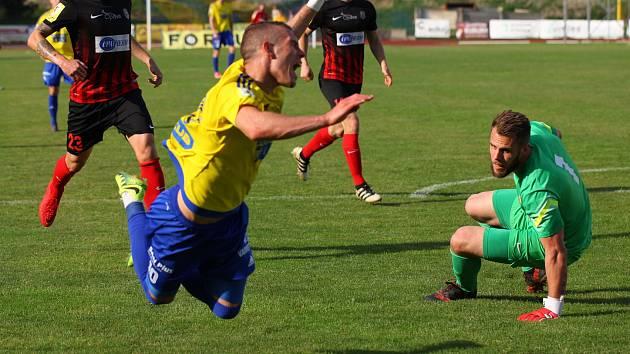 Sport fotbal FNL FK Varnsdorf - SFC Opava. Autor: Václav Černý
