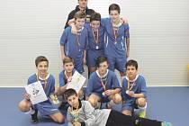 Víkendový futsalový turnaj v budišovské hale vyhrál celek Vítkova.