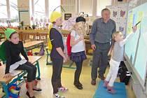 Dny otevřených dveří v Základní škole Ilji Hurníka bývají pro budoucí školáky vždy plné zábavy.