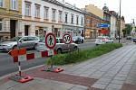 Část Olomoucké se na dva dny uzavře.