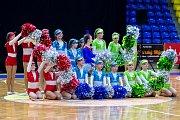 Mezinárodní soutěž mažoretek Opavská růže 2018 v opavské víceúčelové hale.