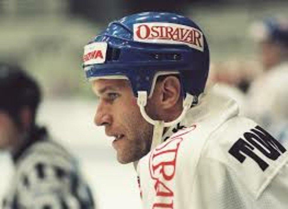 Aleš Tomášek ve vítkovickém dresu. Foto: HC Vítkovice