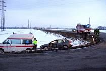 Dopravní nehoda si naštěstí vyžádala jen jedno lehké zranění.