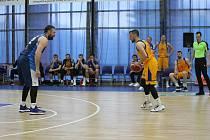Opavští basketbalisté už v prvním poločase nabrali devítibodové manko. Foto: Dalibor Žídek