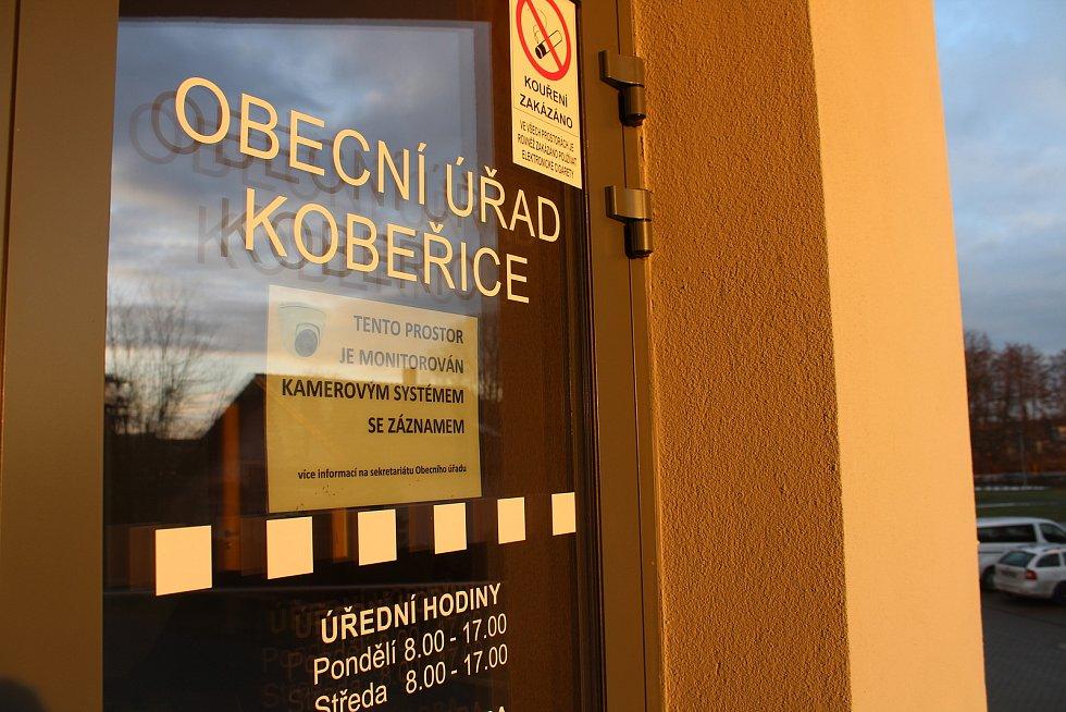 Obecní dům Kobeřice.