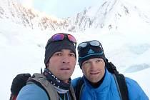 Tomáš Petreček (vlevo) společně s Markem Holečkem.