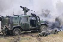 Zcela nový typ české bojové vojenské jednotky s názvem MAT WARDAK prošel v minulých dnech ve vojenském prostoru Libavá první etapou výcviku před odjezdem na misi do Afghánistánu.