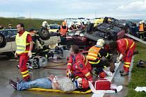 Záchranáři při jednom ze zásahů.