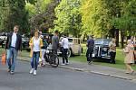 Jedna ze zastávek Trofeo Niké Jeseníky 2019 byla i v Opavě. Kolona historických vozidel vyrobených mezi lety 1907 až 1975 přijela do Slezské nemocnice.