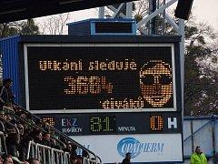 Divácká návštěva při minulém domácím utkání výrazně přesáhla hranici tří tisíc fanoušku v hledišti. Foto: Jan Pitřík