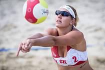 Martina Bonnerová se Šárkou Nakládalovou se staly vítězky opavského beach volejbalového turnaje Českého poháru žen, když ve finále porazily pár Kateřina Válková s Martinou Nakládalovou.