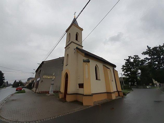 Kaple vHáji ve Slezsku.