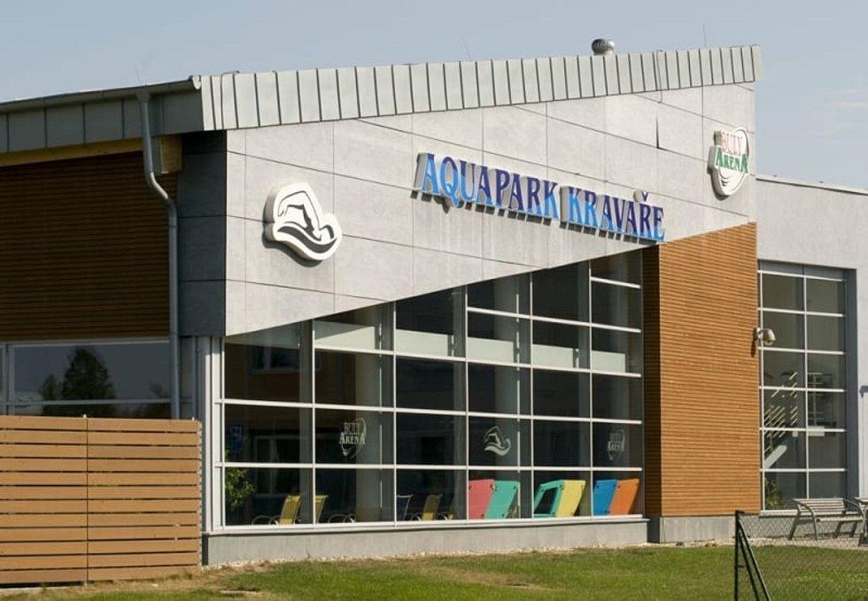Aquapark v Kravařích.