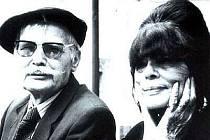 Manželé Bohumír Bocian a Yvonne Tinayre jsou i na slavkovském hřbitově spolu.