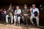 Neopakovatelná podívaná se nabídla v sobotu obyvatelům a návštěvníkům Milostovic. Obrovskou bitevní ukázkou se tu slavilo sté výročí vzniku československých legií.