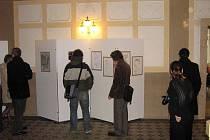 Studentská výstava Návraty po kružnicích.