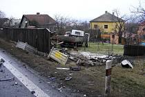 Tragicka dopravní nehoda pod Hrabyňákem.