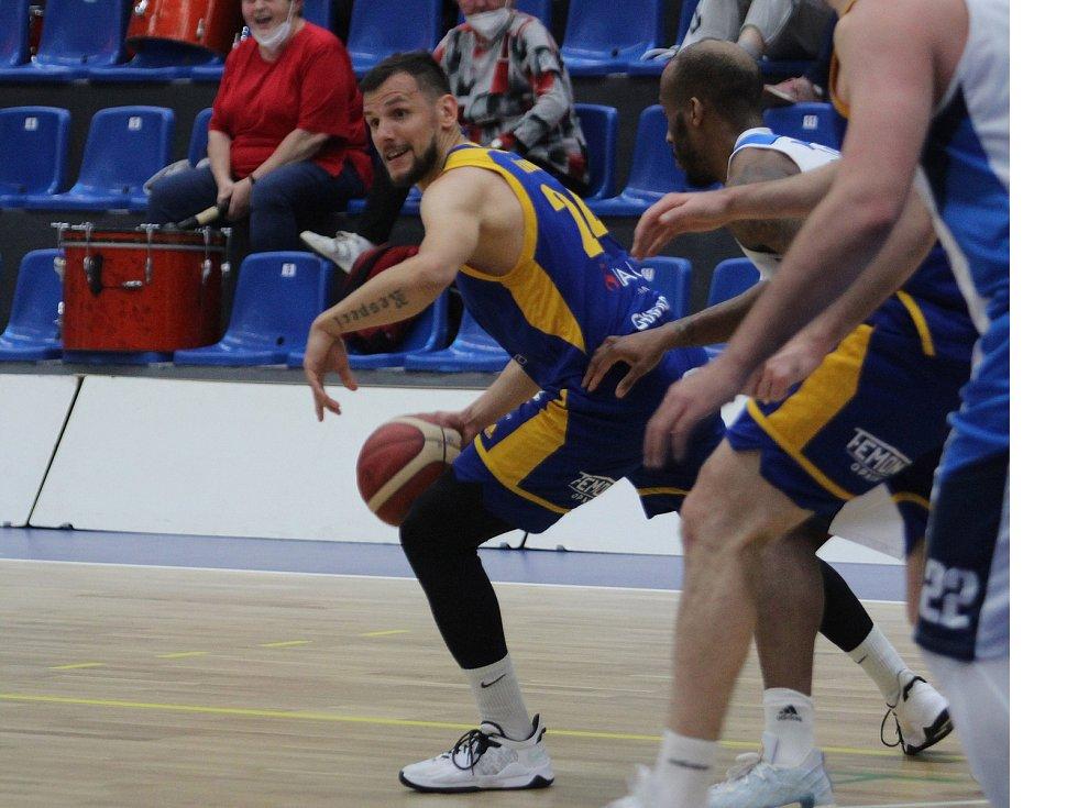 Opavští basketbalisté prohráli v Kolíne. Foto: Ondřej Ludvík