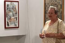 Zdenka Pfefferová s výtvarnou skupinou ITA spolupracuje od roku 2004. Komentuje jak kolektivní, tak samostatné výstavy.