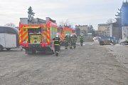 Hasičské cvičení proběhlo v jezdeckém klubu, který se nachází v opavské městské části Kateřinky.