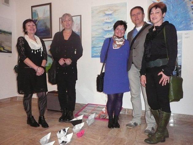 Pobyt v Benátkách se stal inspirací pro opavské výtvarníky Skupiny X. Výstava jejich děl momentálně probíhá v Bratislavě.