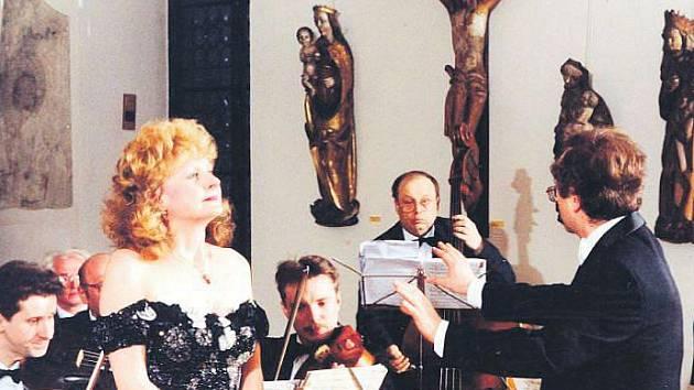Výjimečná dáma, které sudičky přiřkly nezměrnou dávku talentu, taková je Olga Procházková.