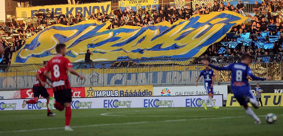 fans fanoušci Opavy kotel