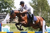 Na stupně vítězů se probojoval Milan Klár na koni Vendy 3 (Agrostyl Otice), který v Brně obsadil skvělé druhé místo.
