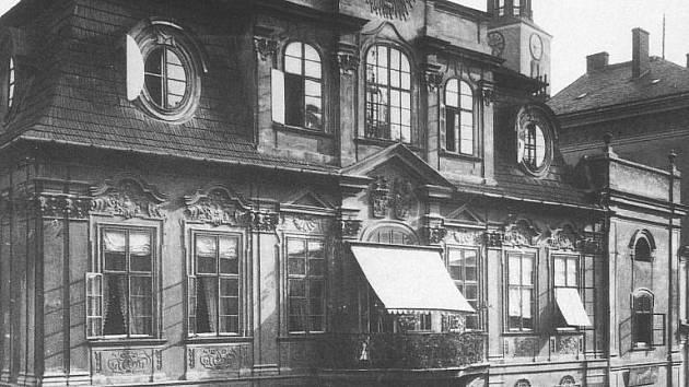 Blücherův palác na počátku 20. století.