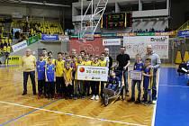 Opavští basketbalisté znovu podpoří nemocného Matyáše Tazbirka.