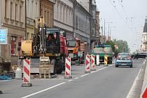 Rekonstrukce Krnovské ulice byla zahájena.