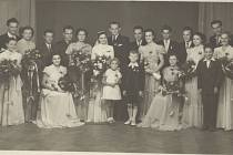 SVATBA v Jaktaři v roce 1954.
