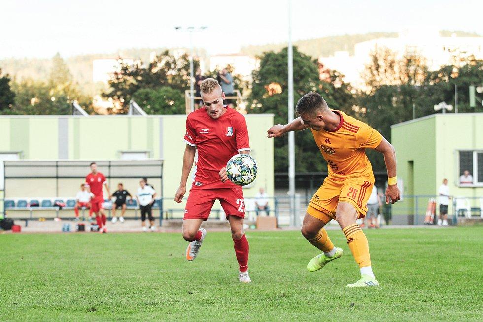 Lukáši Kaniovi první zápasy na hostování v Blansku vyšly. Foto: FK Blansko
