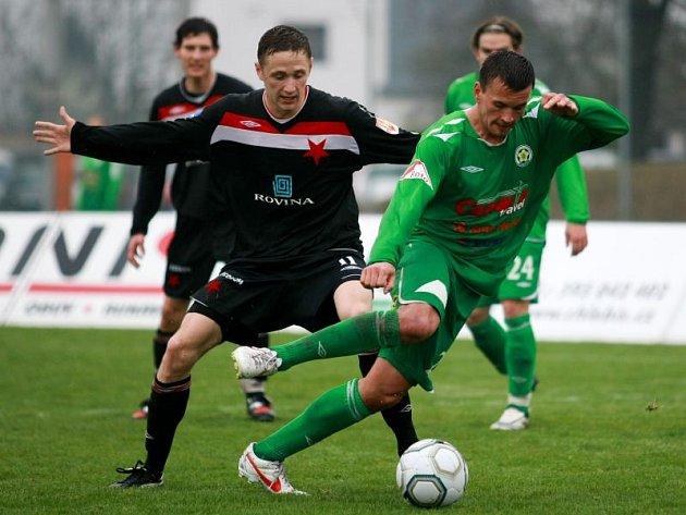 Robin Štefek (v zeleném)