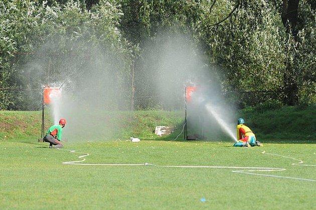 Poslední kolo Moravskoslezského poháru v požárním útoku ve Vávrovicích.