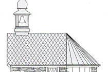Jeden z námětů budoucí podoby kaple.