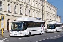 Autobusy ČSAD jezdí v regionu od loňského června. Foto: Filip Vlček