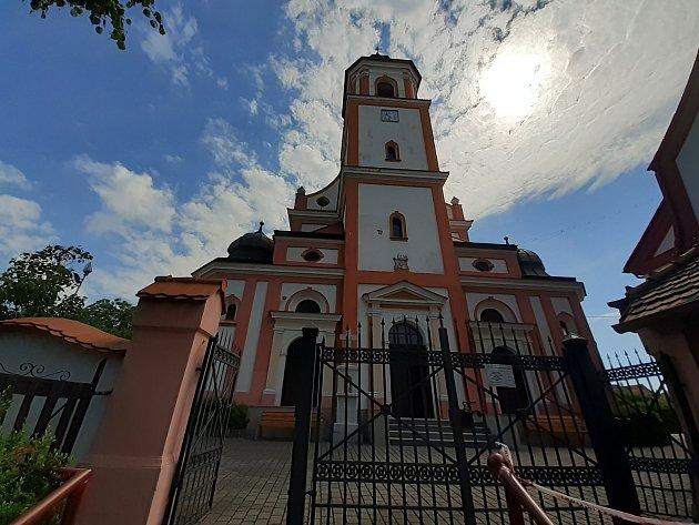 Kostel sv. Stanislava.