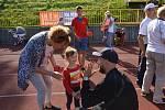 Ve středu odpoledne 25. srpna 2021 se za krásného počasí konal na atletickém hřišti Sokol Opava již šestý sportovní mítink pro děti a mládež Čokoládová tretra.