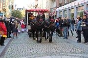 Oslavy svátku svatého Martina se v sobotu 11. listopadu konaly i v Opavě.