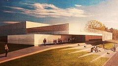 I takto měl podle prvotních návrhů vypadat nový bazén v Opavě. V současné době ještě jeho nová podoba není známa.