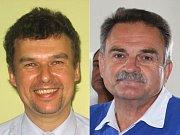 Vladimír Plaček (ČSSD) a Václav Vlček (ODS)