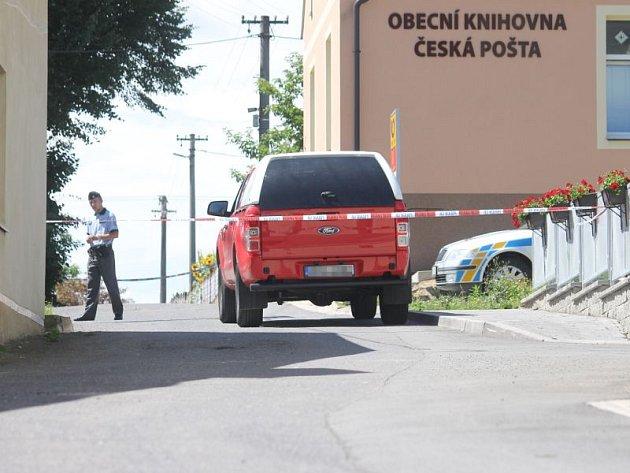 Ve Skřipově v pátek 28. července proběhl pokus o přepadení místní pošty.