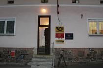 Pošta ve Skřipově.