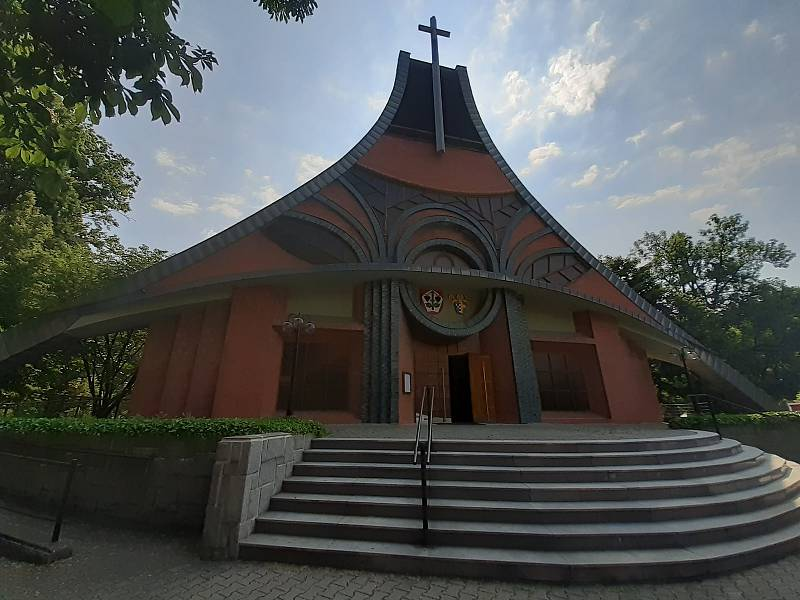 Kostel Povýšení sv. Kříže.