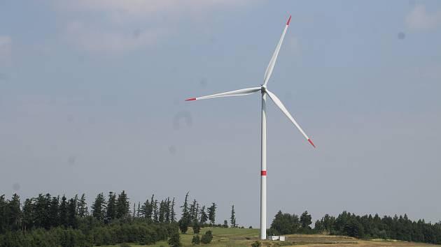 Větrná elektrárna. Ilustrační foto.