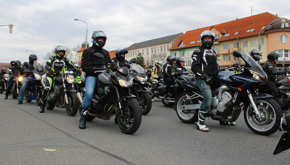 Motorkáři - ilustrační foto
