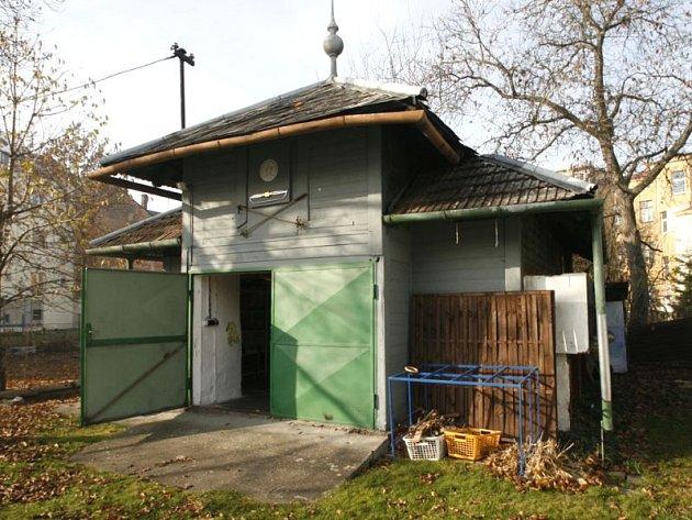 Bývalý pavilon spolku pro chov ryb na Hauerově ulici v Opavě.