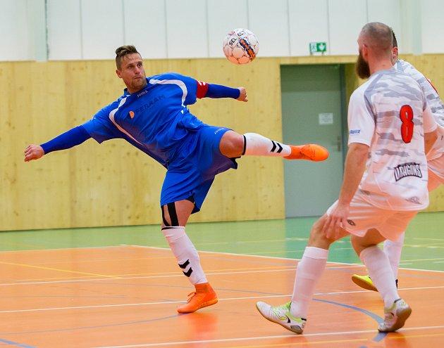 Lukáš Krčmařík se blýskl čtyřmi góly.